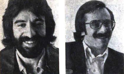 Abrevaya y Guinzburg en 1976