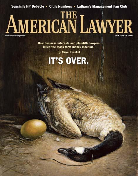 Mejor concepto de tapa - The American Lawyer - Finalista