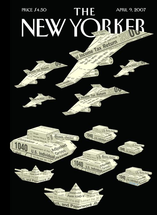 Mejor tapa de Noticias - The New Yorker - Ganadora