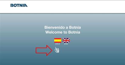 Sitio web de Botnia