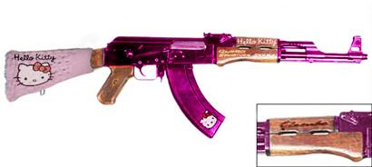 Nuestro Querido AK-47 Hello-kitty-ak47
